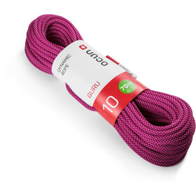 Ocun Guru Rope 10mm x 70m, rosa/blanco